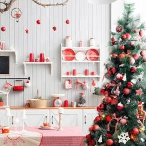 Gli addobbi natalizi più belli in cucina: quali scegliere