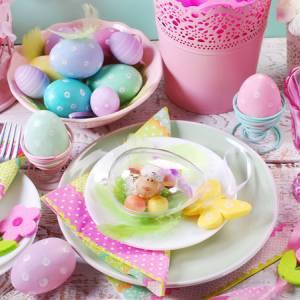 Come apparecchiare la tavola a Pasqua