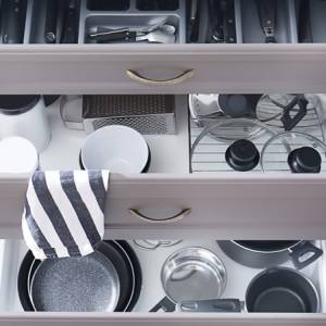 Come avere una cucina perfetta: dai cassetti al piano lavoro