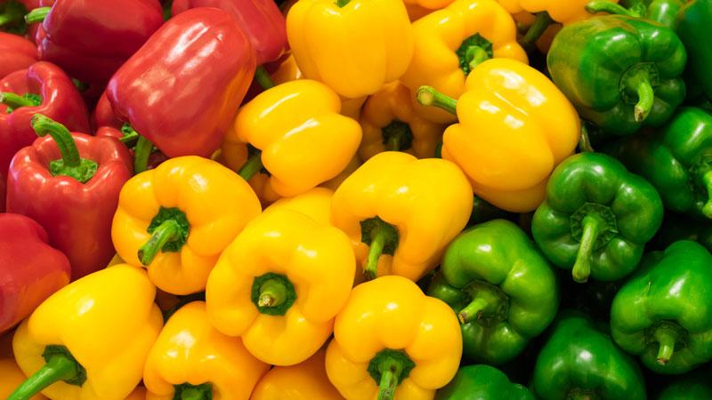 L'ingrediente del mese di luglio: i peperoni
