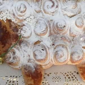 Agnello pan brioche dolce