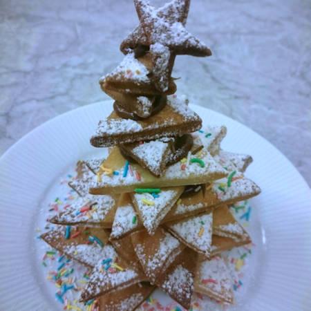 Albero di Natale biscotti e cioccolato