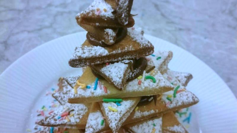Dolci Di Natale Con Il Bimby.Albero Di Natale Biscotti E Cioccolato Ricette Bimby