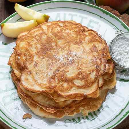 Apfelpfannkuchen pancake alle mele