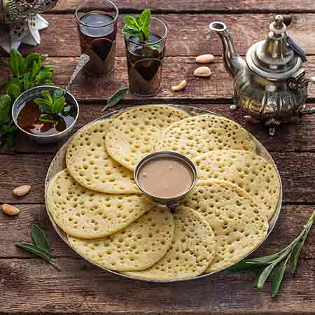 Baghrir (crepes marocchine)
