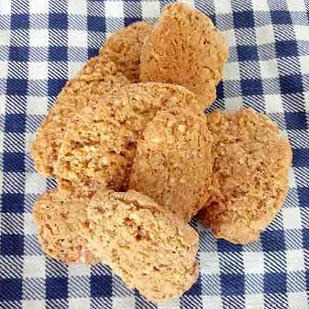 Biscotti agli amaretti senza glutine