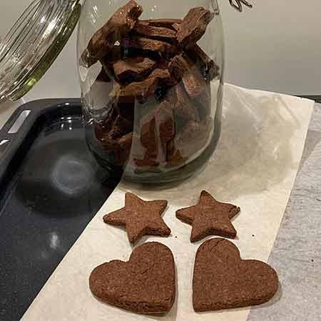 Biscotti al farro senza burro