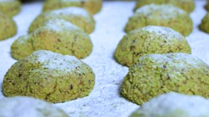 Biscotti al pistacchio morbidi