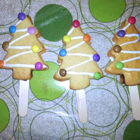 Biscotti alberelli