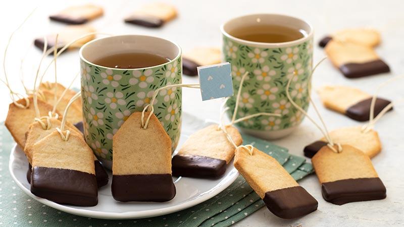 Biscotti bustina da tè