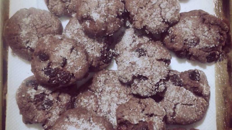Ricetta biscotti con l'uvetta bimby