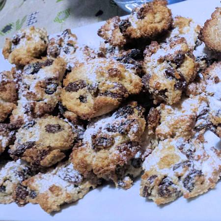 Biscotti cannella e uvetta