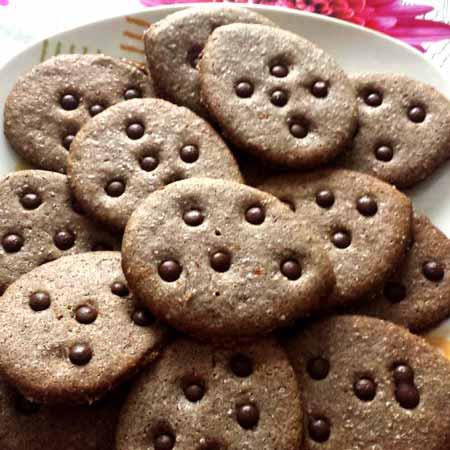 Biscotti con farina di riso venere