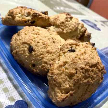 Biscotti con Okara (polpa di mandorle)