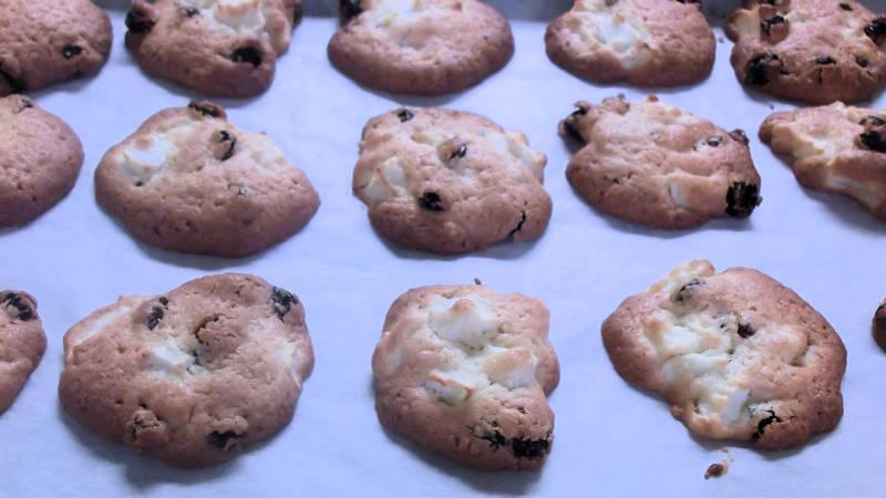 Biscotti con uvetta