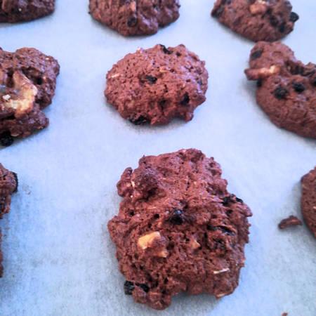 Biscotti cookies vegani