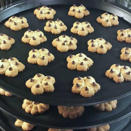 Biscotti di meliga alla lavanda