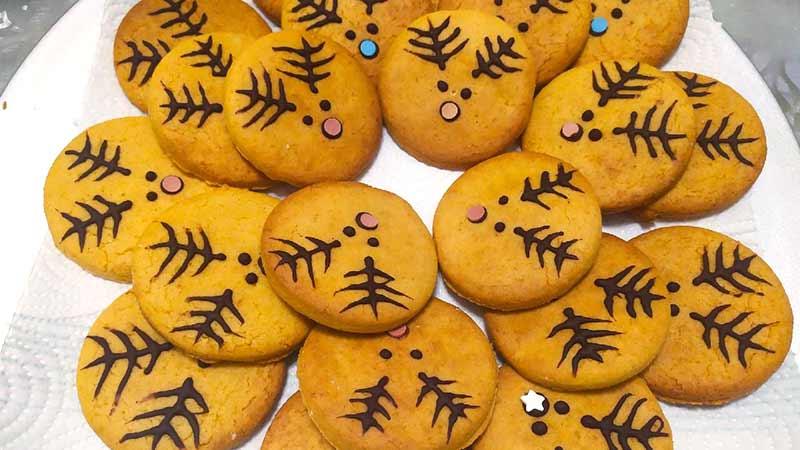 Biscotti di Natale con stevia