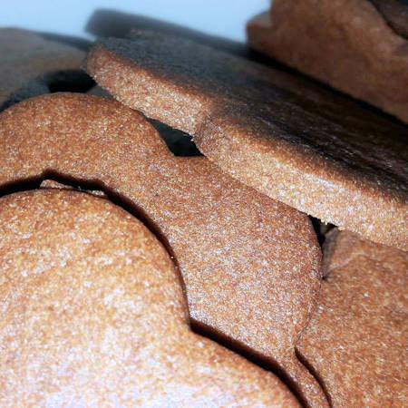 Frollini al cacao senza uova
