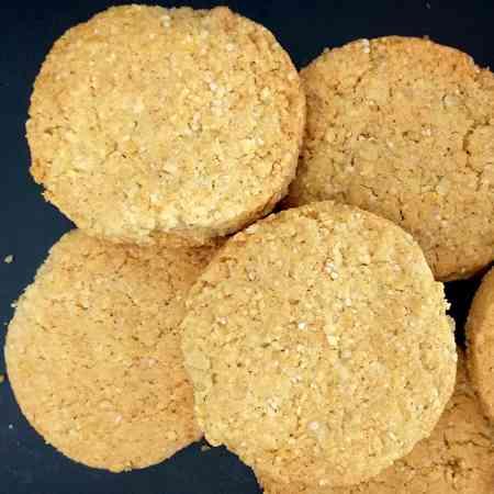 Biscotti grancereale con mandorle