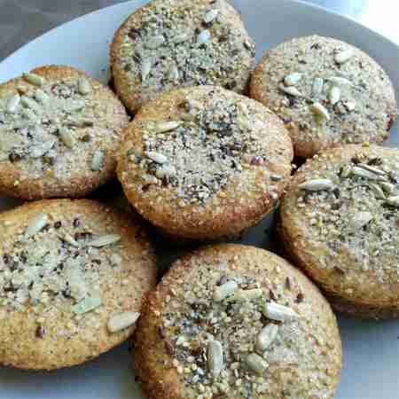 Biscotti integrali ai semi