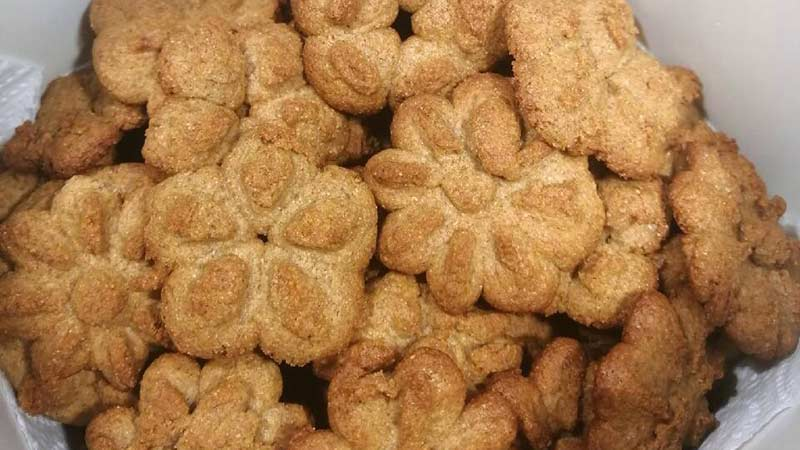 Biscotti integrali con miele