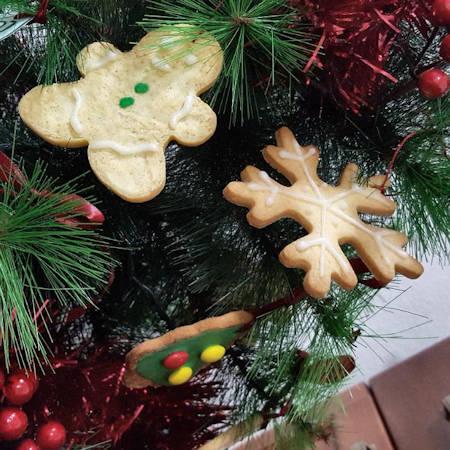 Biscotti light per albero di Natale