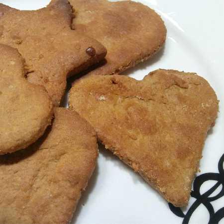 Biscotti mandorle e farina di ceci