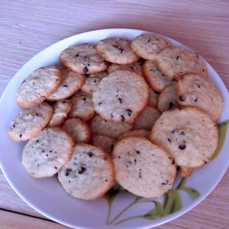 Biscotti morbidi cocco e cioccolato