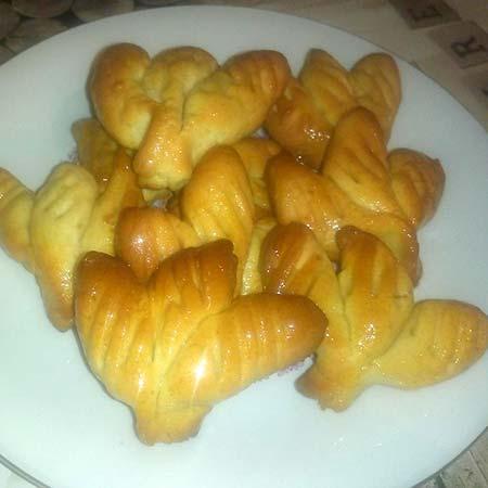 Biscotti pasta di miele siciliana