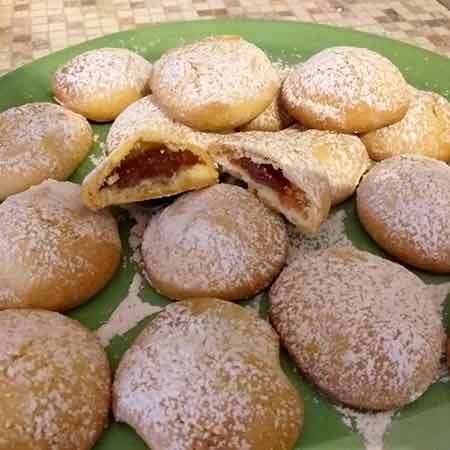Biscotti ripieni senza burro