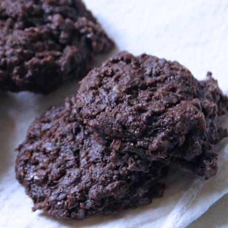 Biscotti riso e cioccolato