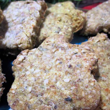 Biscotti salati di grano saraceno