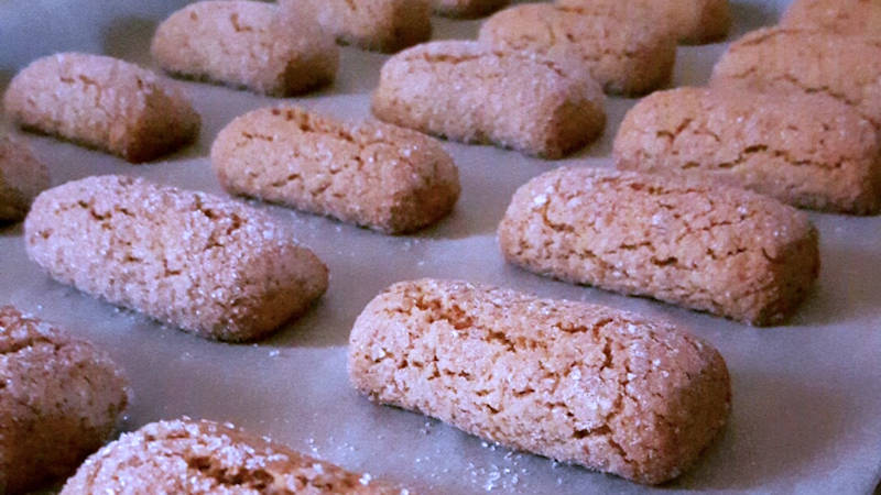 Biscotti secchi vegan