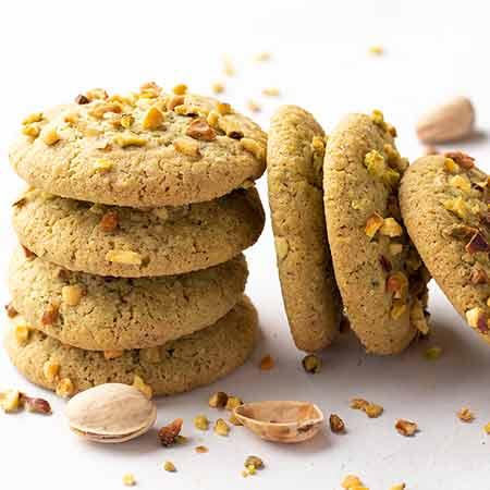 Biscotti semplici al pistacchio