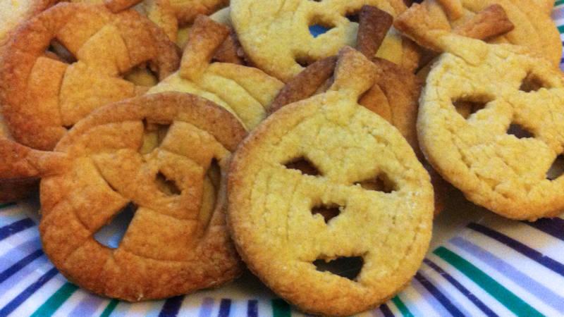 Biscotti vegan di Halloween