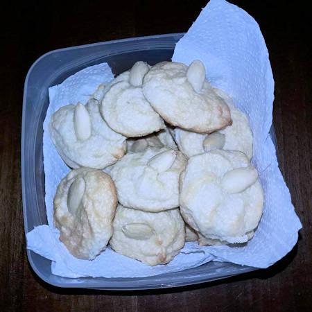 Biscotti veloci alle mandorle