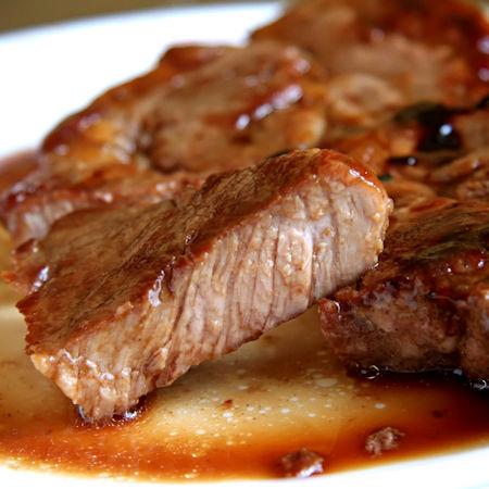 Bistecche di maiale a Varoma