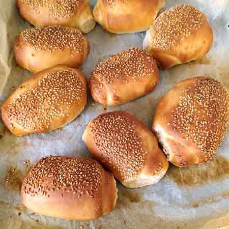 Bocconcini di pane siciliano