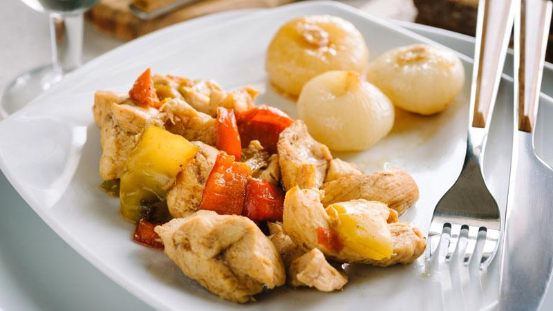 Pollo Con Peperoni Ricette Bimby