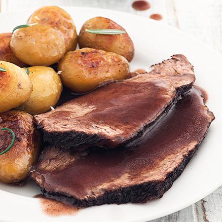 Brasato con patate
