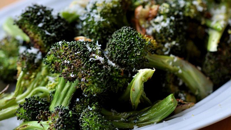 Broccoli con olive