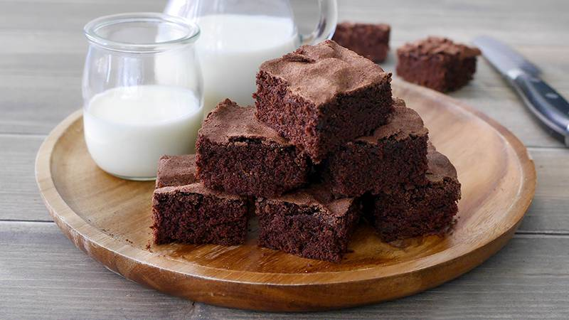 Ricetta Brownies Bimby Senza Burro.Brownies Al Cacao Ricette Bimby