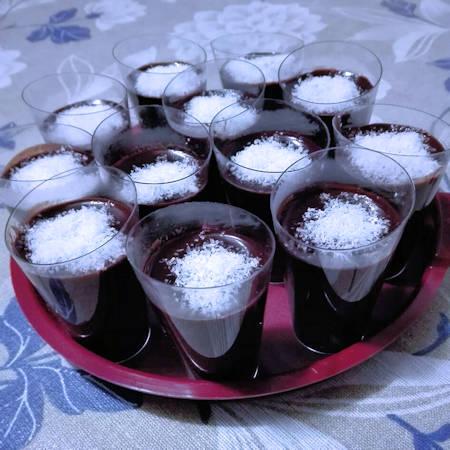 Budino Danette al cioccolato