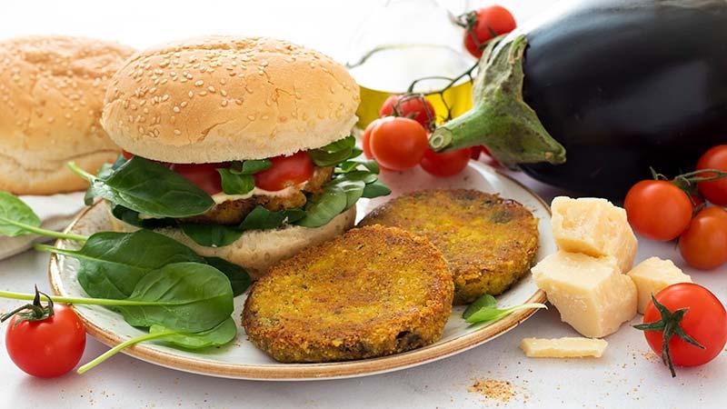 Burger di melanzane ricette bimby for Cucinare hamburger microonde