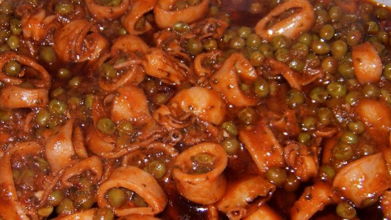 Calamari in umido