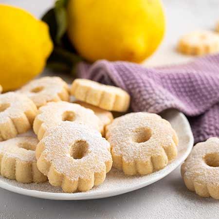 Canestrelli al limone