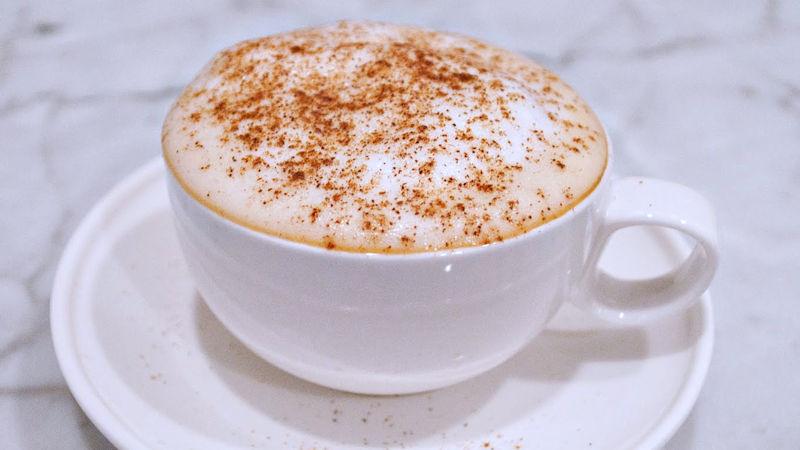 Cappuccino con caffè solubile