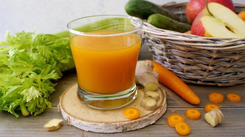 Centrifuga depurativa carote e mela