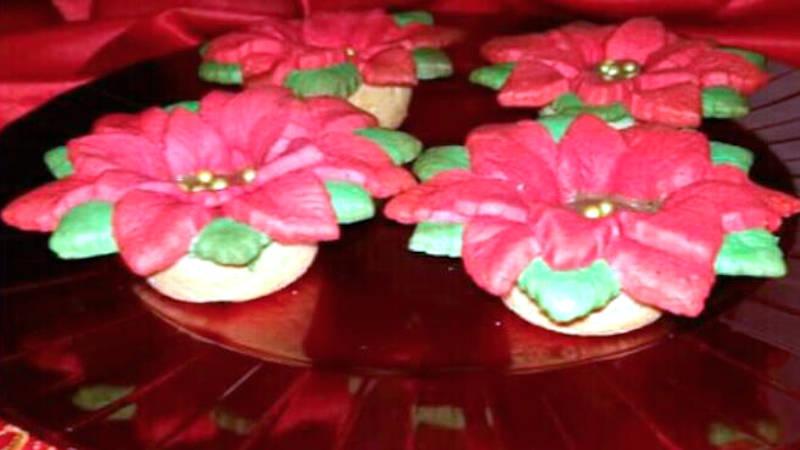 Ricetta Stella Di Natale.Cestini Stella Di Natale Di Pasta Frolla